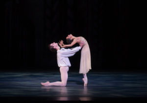 """Misty Copeland and Joseph Gorak in the American Ballet Theatre's """"Romeo and Juliet"""" at Wolf Trap. (Photo: Rosalie O'Connor)"""