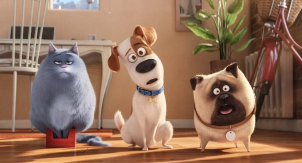 <em>The Secret Life of Pets</em> debuted in first place over the weekend with $104.35 million. (Photo: Universal Pictures)