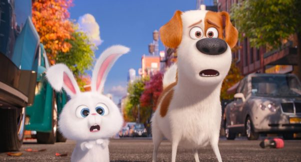 <em>The Secret Life of Pets</em> held onto the top spot at the box office last weekend with $50.83 million, edging out the anticipated all-female <em>Ghostbusters</em> remake. (Photo: Universal Pictures)