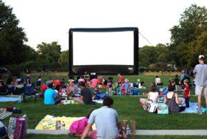 "Rosslyn Cinema show ""Finding Nemo"" at sundown Friday with festivities beginning at 5 p.m. (Photo: Rosslyn BID)"