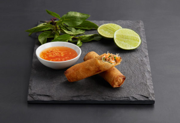 Shophouse Southeast Asian Kitchen has added crispy spring rolls to is menu. (Photo: Shophouse Southeast Asian Kitchen)