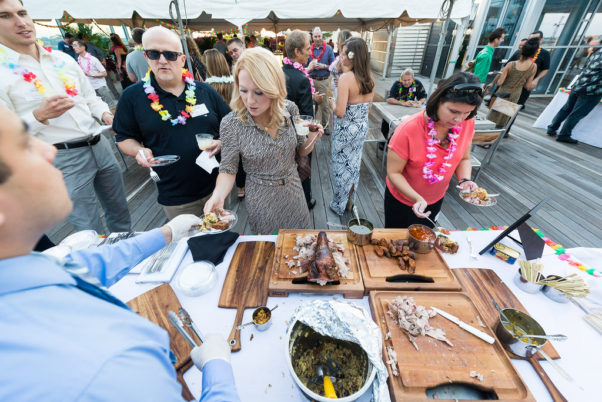 Del Campo's monthy rooftop happy hour will have a tiki theme. (Photo: Under a Bushel Photography)