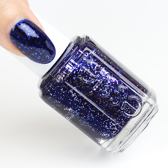 Essies Starry Starry Night is the color of spakrly blue ribbons. (Photo: Wwatch and Learn)
