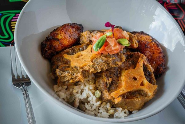 Esencias Panameñas will offer buy one, get one entree like this rabo de buey made with oxtails for $8.15 on Monday to celebrate the founding of Panama Viejo. (Photo: Rey Lopez)