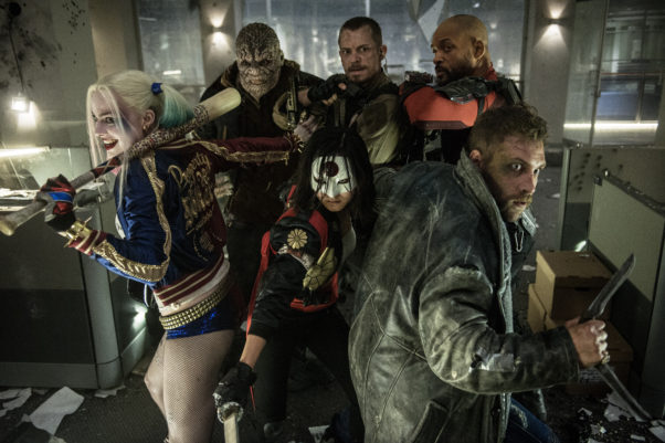 Suicide Squad starring Will Smith and Margot Robbie set a new record for best August opening weekend with $133.68 million. (Photo: Warner Bros. Pictures)