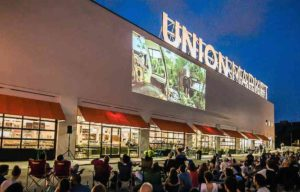 Union Market will show <em>Ratatouille</em> at  8 p.m. on the side of its building on Friday. (Photo: Union Market)