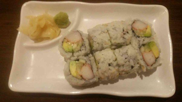 California rolls at Shanghai Tokyo Cafe are tasty. (Photo: Mark Heckathorn/DC on Heels)