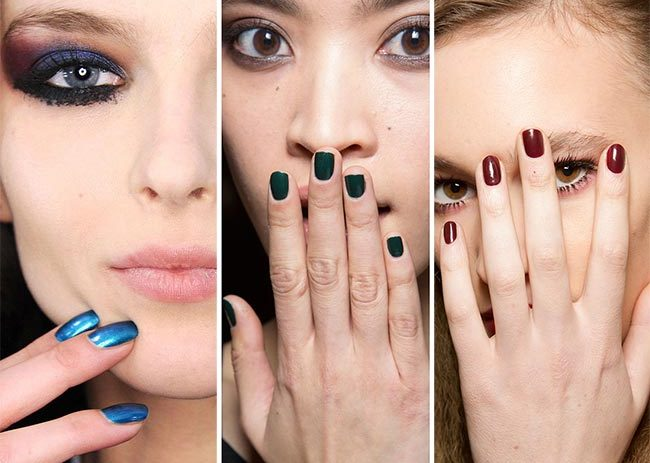 This Year S Trending Fall Nail Colors Are More Like You D Expect To Find At