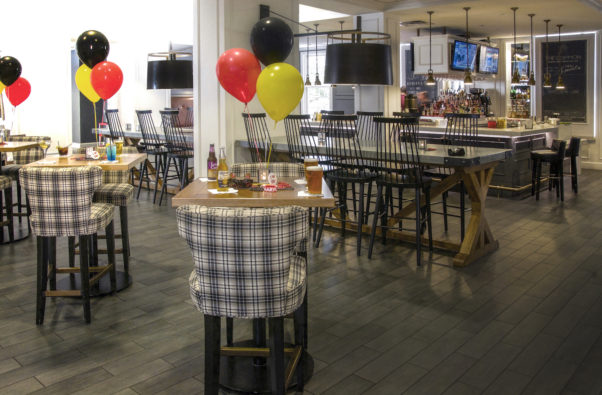 The College Park Marriott has expanded its Game Zone bar for Terp's game day celebrating. (Photo: College Park Marriott)