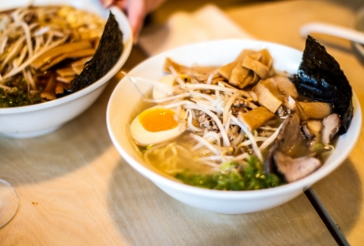 Haiken, from the owners of Daikaya and Bantam King, will open in Shaw's Atlantic Plumbing Building on Saturday serving four kinds of ramen including shoyu. (Photo: Haiken)