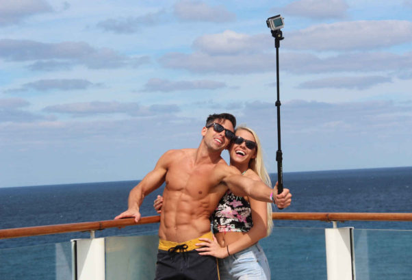 "Bring out the selfie stick and don't be afraid of being ""that"" couple. (Photo: Matt Meltzer)"