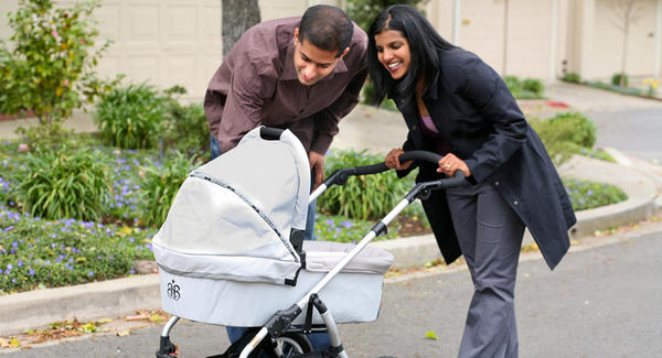 Two children are injured in stroller accidents every 2 hours in the U.S., a study has found. (Photo: Baby Centre)