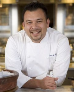 Chef Jorge Chicas is taking over the kitchen at BLT Steak. (Photo: Jorge Chicas/Twitter)