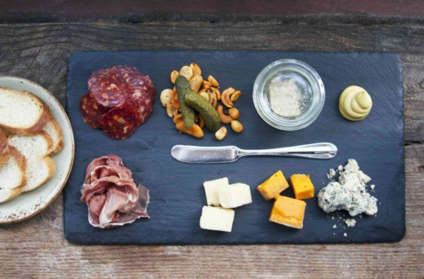 Brookland's Finest Bar & Kitchen is hosting a Civic vodka dinner each Tuesday in September that include this Brookland Zoo charcuterie board. (Photo: Morgan West)