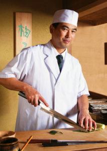 Chef Yoshi Ota of Yuzu will open Sushi Gakyu in the former St. Michael's Bakery space. (Photo:  Stacy Zarin-Goldberg)