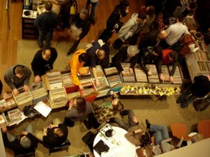The D.C. Record Fair moves to the Howard Theatre from 11 a.m.-5 p.m. on Sunday. (Photo: D.C. Record Fair)