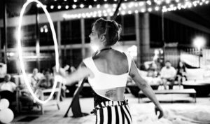 Art All Night on Saturday include Circus of the Night in Shaw. (Photo: Nuit Cirque)