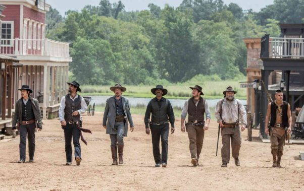 <em>The Magnificent Seven</em> took first place in the box office over the weekend with $34.70 million. (Photo: Sam Emerson/MGM/Columbia PIctures)