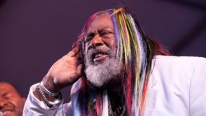 George Clinton and Parliament Funkadelic perform at Saturday's 202 Arts & Music Festival. (Photo: Groovepress)