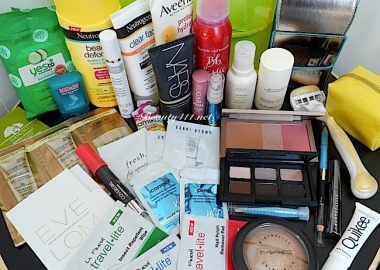 Do you pack too much or not enough beauty products when traveling? (Photo: www.beauty411.net)