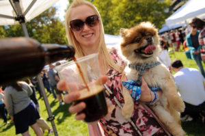 Take Fido to Crystal City Sunday for Pups and Pilsners. (Photo: Crystal City BID)