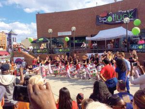 Batala Washington performs at the 2015 Adams Morgan Day. (Photo: Robert Turner II)