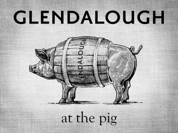 The Pig will host a Halfway to St. Patrick's Day party with Ireland's Glendalough Distillery on Wednesday. (Graphic: The Pig)