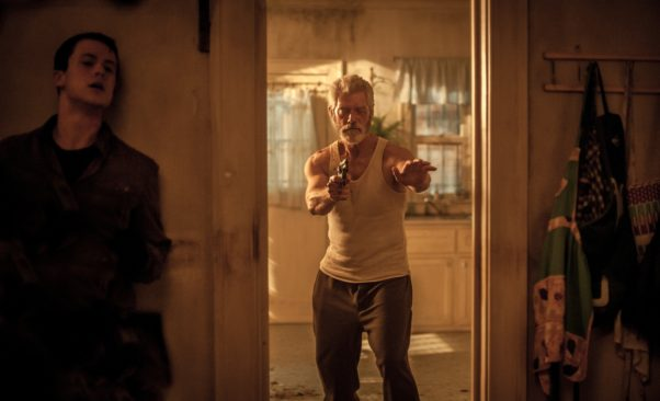 """""""Don't Breathe"""" held on to the top of the box office over the long Labor Day weekend with a $19.71 million four-day take. (Photo: Sony Pictures)"""