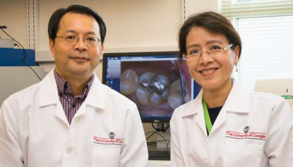 "Xiaozhong ""John"" Yu and Lei Yin from the University of Georgia conducted research that shows dental amalgam can contribute to prolonged mercury levels in the body. (Photo: University of Georgia)"