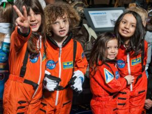 Learn about women in aviation and space at the Smithsonian Air and Space Museum's Heritage Family Day. (Photo: Smithsonian Air and Space Museum)