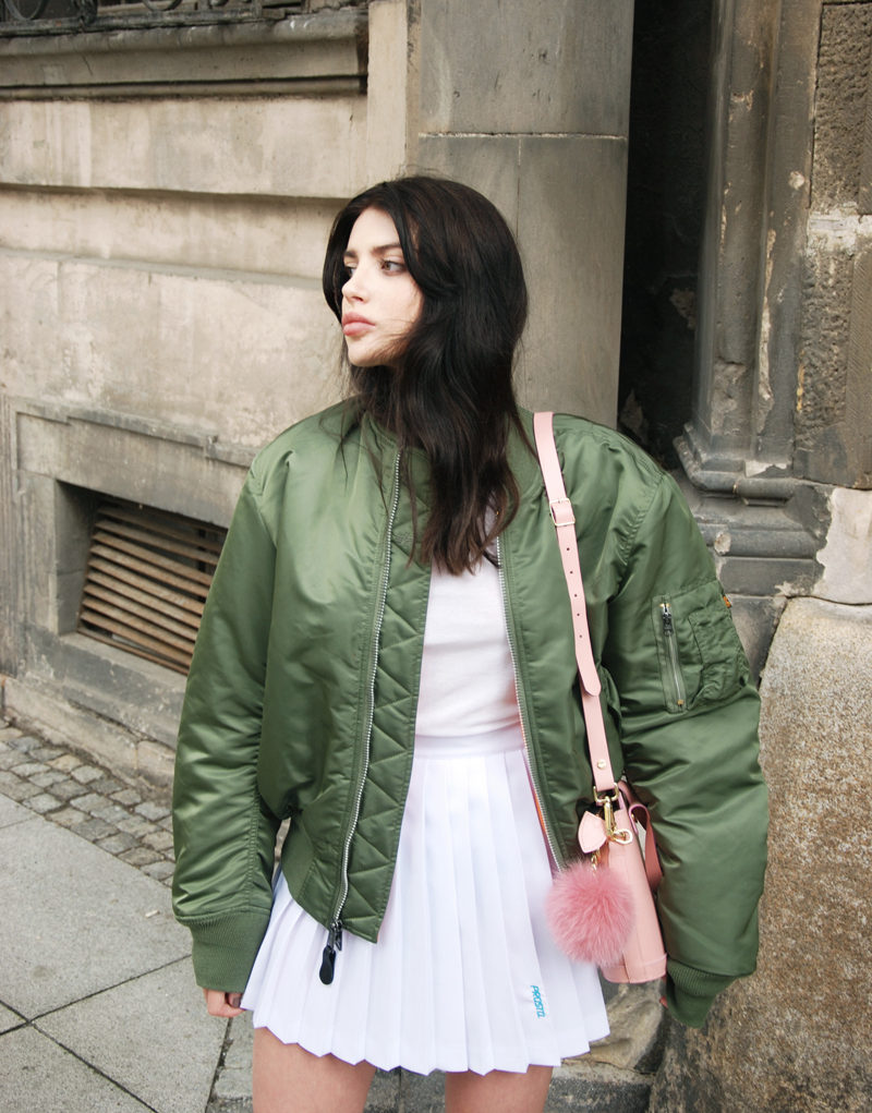 Bomber jackets are in this fall. (Photo: Horkruks)