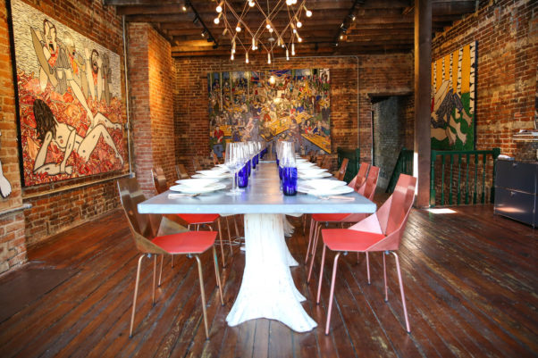 Dacha Supper Club will serve a family-style meal at a communal table. (Photo: Dacha Supper Club)