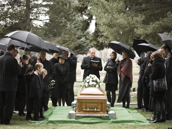 Preplanning your own funeral takes the burden off your loved ones. (Photo: Pinterest)