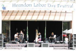 The Herndon Labor Day Festival features wine, beer, food, crafts, games and live music. (Photo: Herndon Parks & Rec Department)