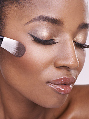 Contouring can change the appearance of your face by contrasting and emphasizing your features. (Photo: iStockphoto)