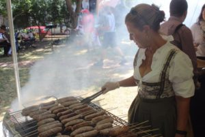 Oktoberfest at Heurich House Museum features local beers, brats and other German food. (Photo: K Street Magazine)