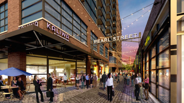 Kaliwa, a Filipinio, Thai and Korean restaurant from Restaurant Eve owner chef Cathal Armstrong, is coming to The Wharf. (Image: Hoffman-Madison Waterfront)