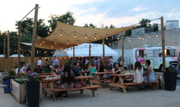 Neal Place Tap & Garden hosts two Oktoberfest parties this week. (Photo Neal Place Tap & Garden)