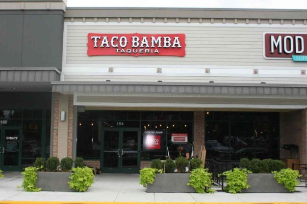 Taco Bamba opens its second location in the Vienna Shopping Center on Thursday. (Photo: Mark Heckathorn/DC on Heels)