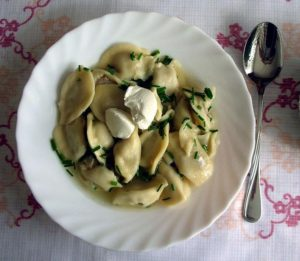 Get a taste of old Russia with food like this pelmeni at St. John the Baptist's Russian Bazaar from noon-6 p.m. Saturday and Sunday. (Photo: Russian Orthodox Cathedral of St. John the Baptist)