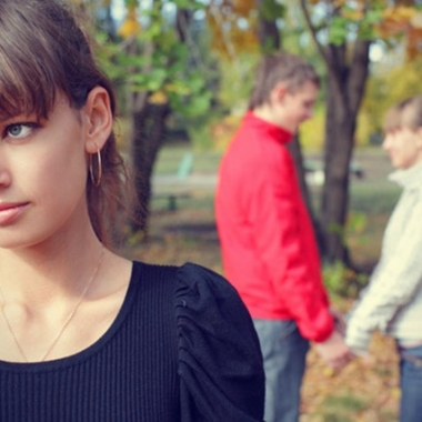 Don't let your ex and their someone new get to you. (Photo: Shutterstock)