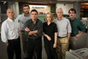"The Penrose Square movie night will feature ""Spotlight"" at 8 :15 p.m. Saturday. (Photo: Open Roads Films)"