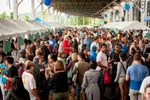 Taste of Georgetown brings more than 30 neighborhood restaurants to K Street NW along the waterfront from 11 a.m-4 p.m. on Saturday. (Photo: Taste of Georgetown)