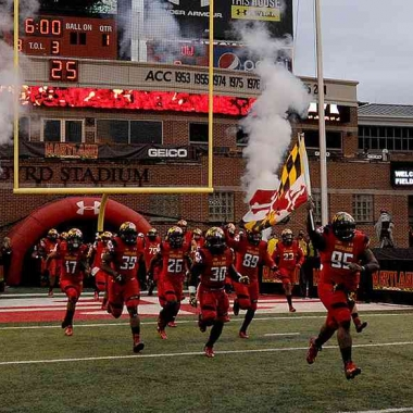 The Maryland Terrapins take on the Howard Bison at noon Saturday at Maryland Stadium. (Photo: University of Maryland)