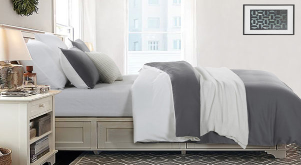 A zipper closure makes making the bed easier and is more modern. (Photo: Vaulia)