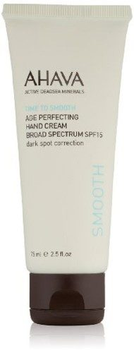 Ahava Time to Smooth Age Perfecting Hand Cream has many benefits all in this one tube. (Photo: Ulta)