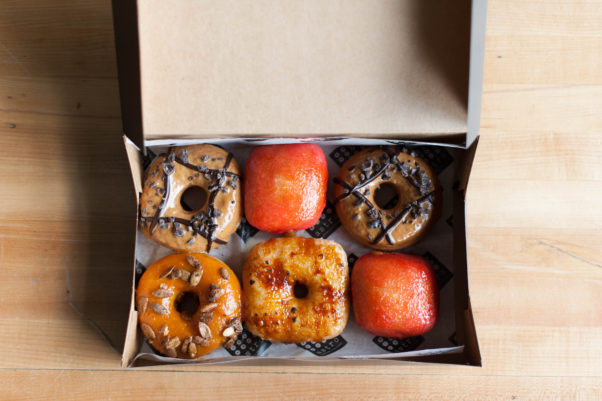 Astro Doughnuts & Fried Chicken is serving three special fall doughnuts during October. (Photo: Astro Doughnuts & Fried Chicken)