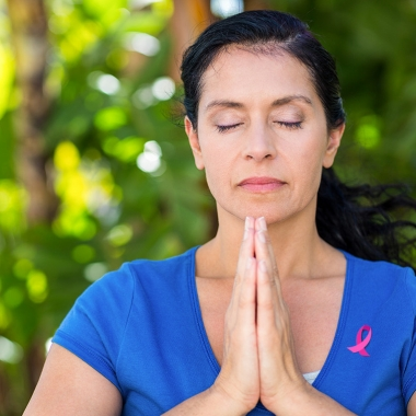 Holistic activities such as yoga should be integrated with more traditional treatments such as chemotherapy, radiation and surgery in breast cancer treatment. (Photo: Thinkstock)