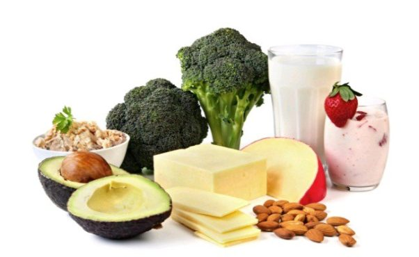 The study found that dietary calcium found in foods such as milk, almonds, yogurt, cheeses, leafy greens, tofu,orange juice, canned fish and more helped bones without causing plaque buildup in arteries. (Photo: 123rtf)