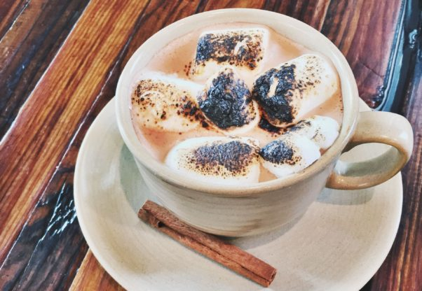 The Royal has several new fall cocktails and coffee drinks including this fall spice hot cocoa. (Photo: The Royal)